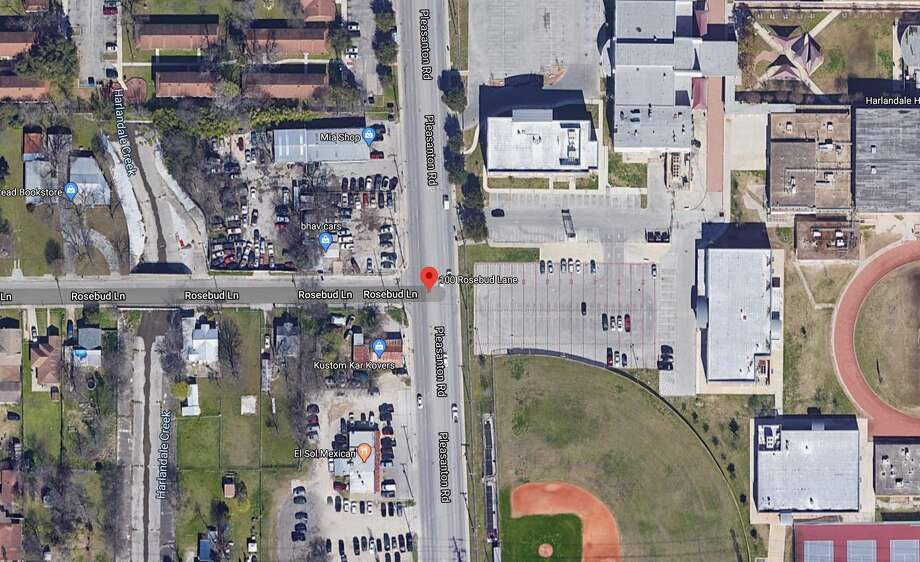 A 15-year-old male was arrested Friday in connection with the body of a man found dead near Harlandale High School on Tuesday, San Antonio police said. The map shows the approximate location of the incident. Photo: Google Maps