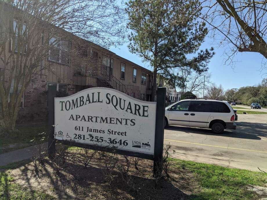 Tomball Square apartments, which a developer plans to acquire and renovate for low income housing, to be renamed Tomball Village Apartments. Photo: Paul Wedding