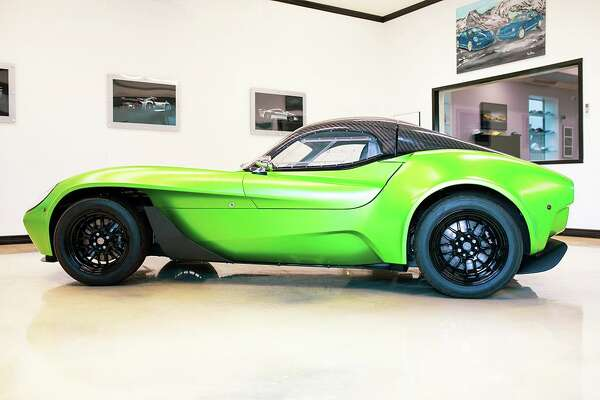 Jannarelly's first product is the Design-1, which distills elements from the golden age of motorsports, to create an ultra-lightweight (810 kg), decidedly analog, pure sports car.
