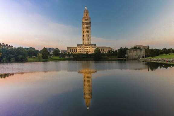 Louisiana State Capitol in Baton Rouge