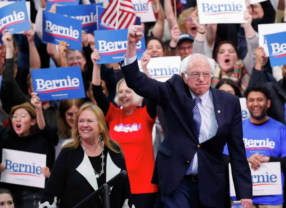 Democratic presidential candidate Sen. Bernie Sanders has labeled himself a socialist, which plays right into Republican hands. He's really a social democrat. Think Denmark, not Venezuela. Photo: Pablo Martinez Monsivais /Associated Press / Copyright 2020 The Associated Press. All rights reserved.
