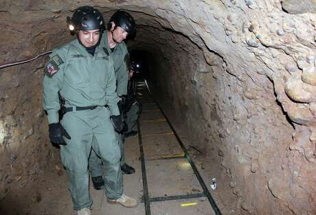 Anyone who knows the U.S.-Mexico border knows elaborate drug tunnels like this one near San Diego in 2011, have existed for years. Tunnels, of course, go under walls.