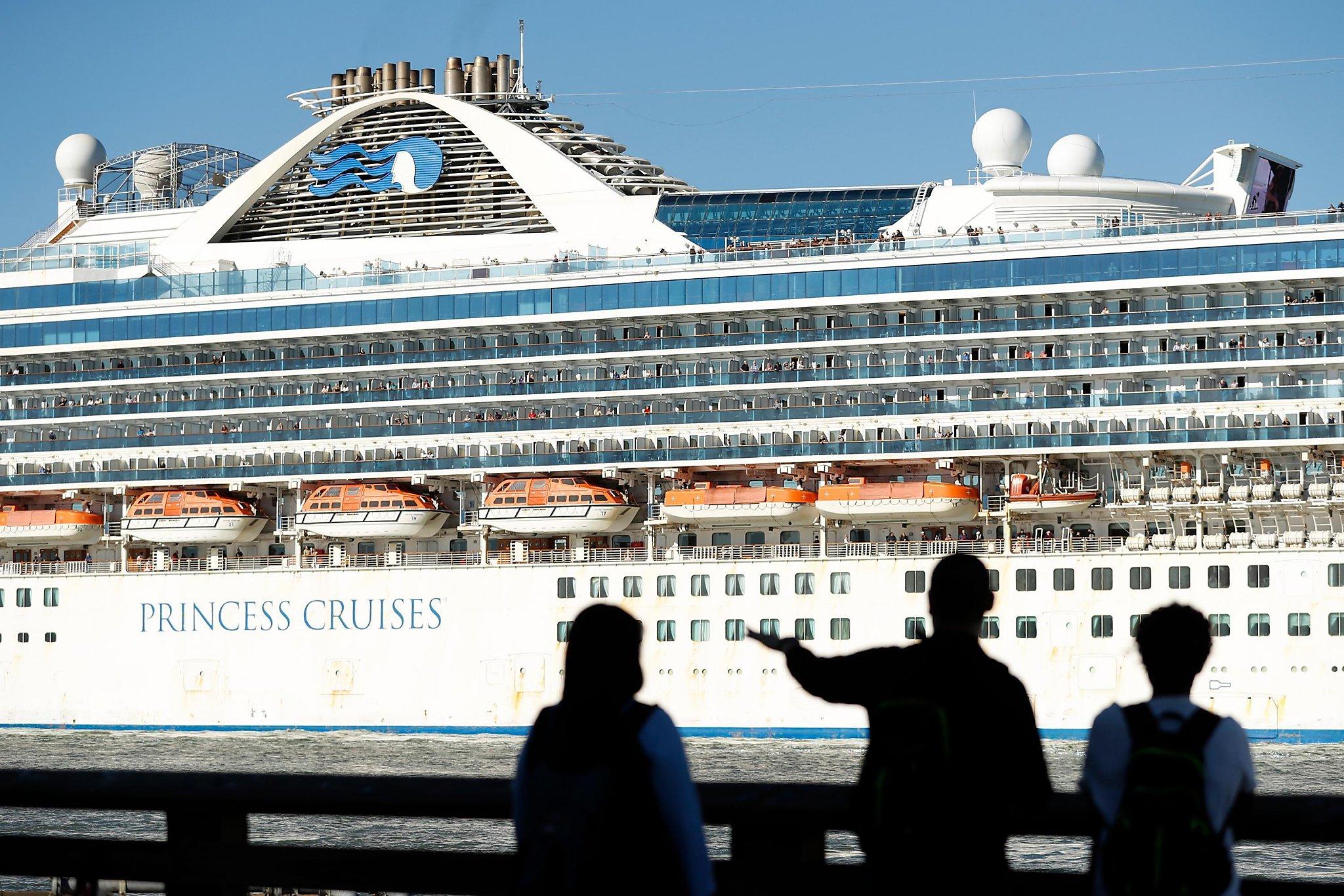 san francisco cruise ship terminal map It S On Everyone S Minds Coronavirus Fears Loom Amid Sf S Cruise san francisco cruise ship terminal map