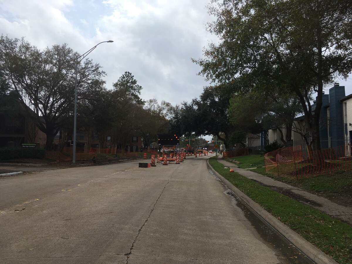 A project to rebuild Walnut Bend Lane in the Westchase District will incorporate new bike lanes and sidewalks.