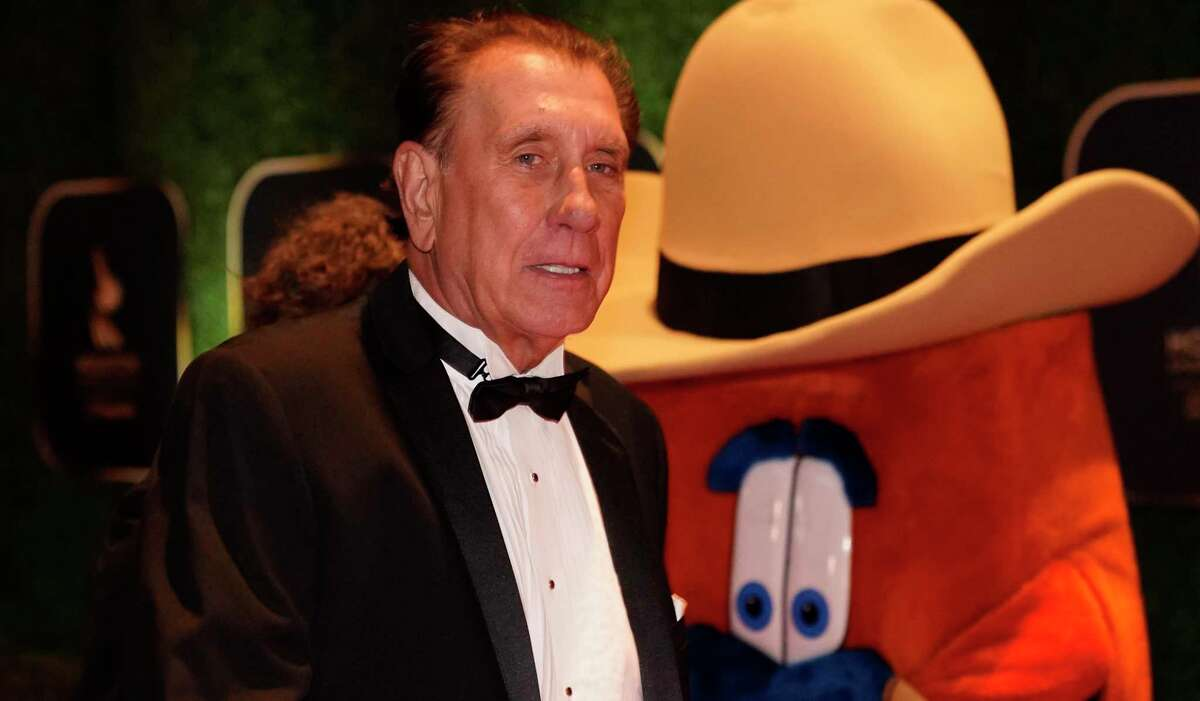 Former Rockets coach and player Rudy Tomjanovich, seen here at last month's Houston Sports Awards, is a Naismith Basketball Hall of Fame finalist for the third time in four years. He has prominent names calling for his long-awaited election to the Hall.