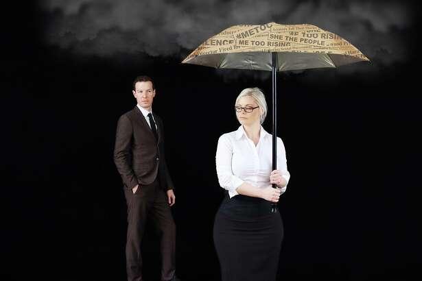 Karla Glessman and Aaron Timmons in 'Kassandra'