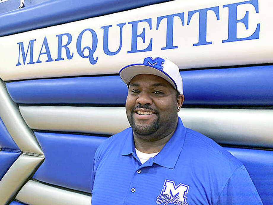 Leon McElrath III, former football coach at McCluer North and a graduate of Webster Groves High School, was named the new head football coach at Marquette Catholic High Friday, Photo: For The Telegraph