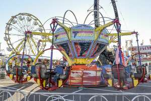 The 2020 WBCA Carnival opened with a ribbon cutting ceremony, Thursday, Feb. 14, 2020, at the Sames Auto Arena parking lot.