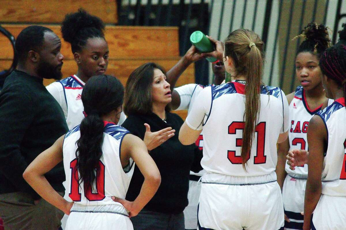 Dawson basketball coach Isabel Gomez saw her team fall to George Ranch in a District 23-6A playoff seeding game Friday night.