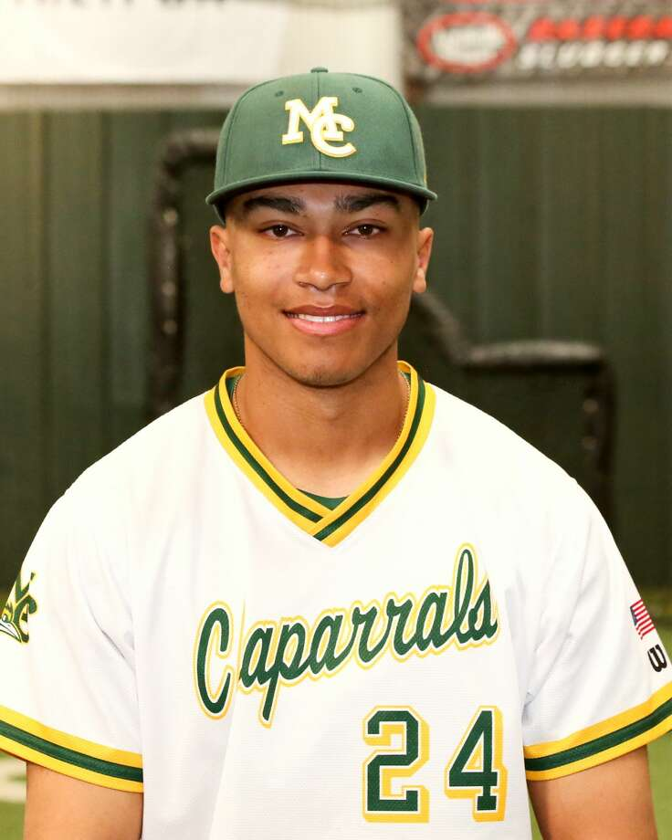 Midland College baseball player Preston Baumgartner Photo: Midland College Athletics