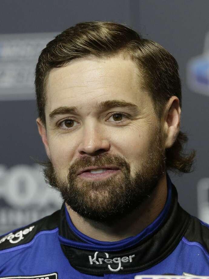 Ricky Stenhouse Jr. is on the pole for Sunday's Daytona 500. Photo: Terry Renna / Associated Press
