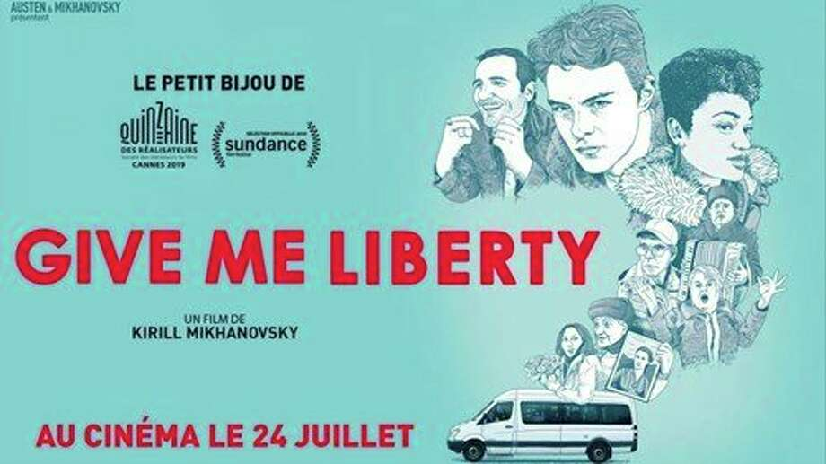 Feb. 15-16: Matrix:Midland presents Give Me Liberty, a freewheeling comedy about medical transport driver Vic who risks his job to shuttle a group of rowdy seniors and a Russian boxer to a funeral, dragging clients like Tracy, a young woman with ALS, along for the ride. (Photo provided/Midland Center for the Arts)