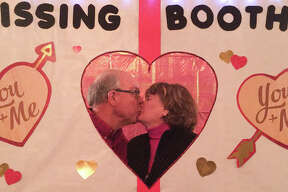Love and romance were in the air at the Franklin Inn in Bad Axe on Friday night during the Valentine's Day show.