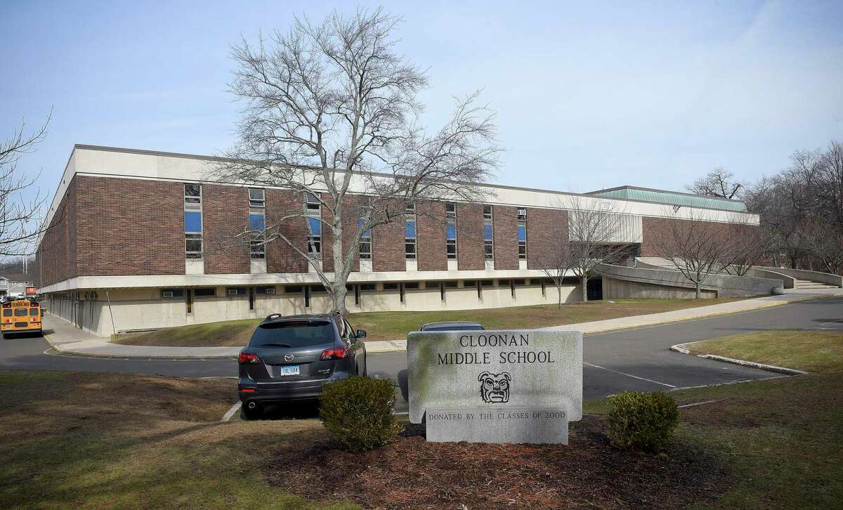 Cloonan Middle School is among five buildings included in the administration's plan to privatize ownership and maintenance of some city schools. City and school administrators have had trouble getting the plan beyond the Board of Representatives, however.