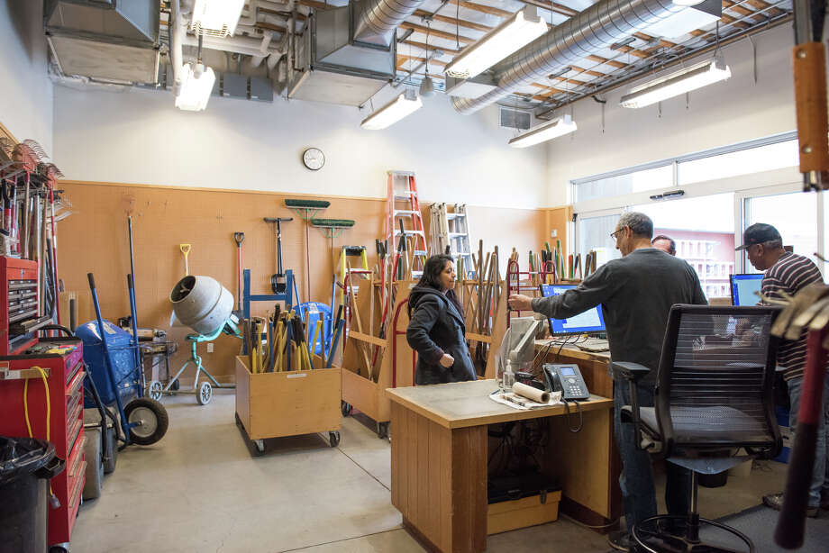 The Berkeley Tool Lending Library is one of the Bay Area's great public gifts, a free-to-use service for Berkeley residents looking for anything from saws to ladders to a hard-to-find screwdriver. Photo: Blair Heagerty / SFGate