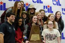 Magnolia finished third overall in during the UIL State Swimming & Diving Championships at the Lee & Joe Jamail Texas Swimming Center, Saturday, Feb. 15, 2020, in Austin.