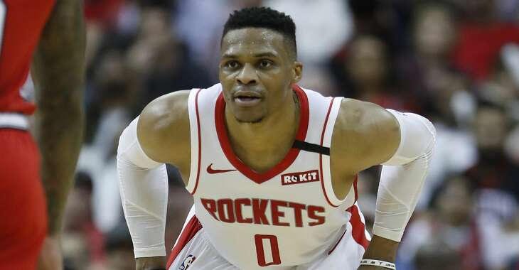 Russell Westbrook has hit his stride with Rockets.