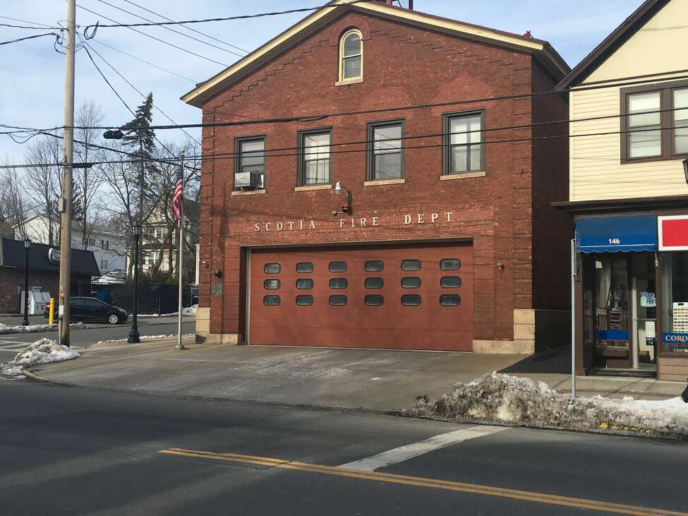 View of aging Scotia fire station on Mohawk Avenue, Feb. 15, 2020.