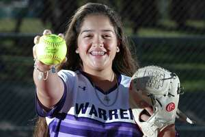 Warren High School softball pitcher Annika Litterio is the area's top returning pitcher. Litter, a junior pitcher for the Warriors, has committed to UTEP.