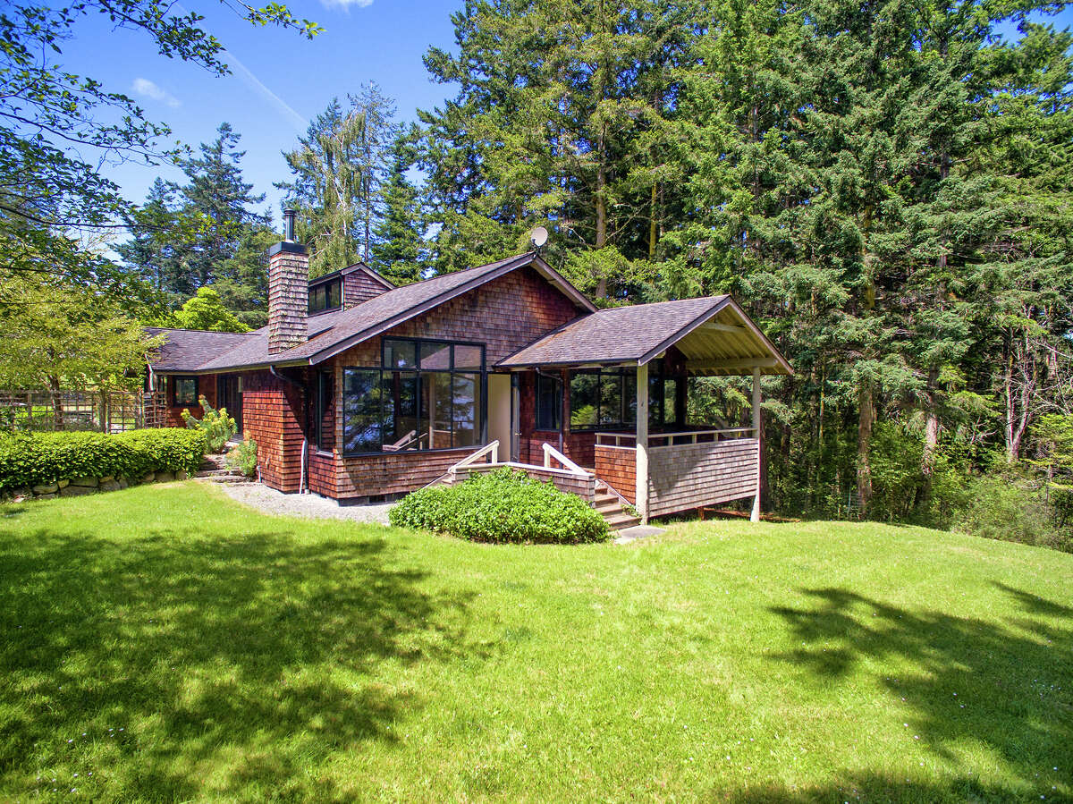 A sprawling estate on the shore of Lopez Island could be yours for $4.9M.