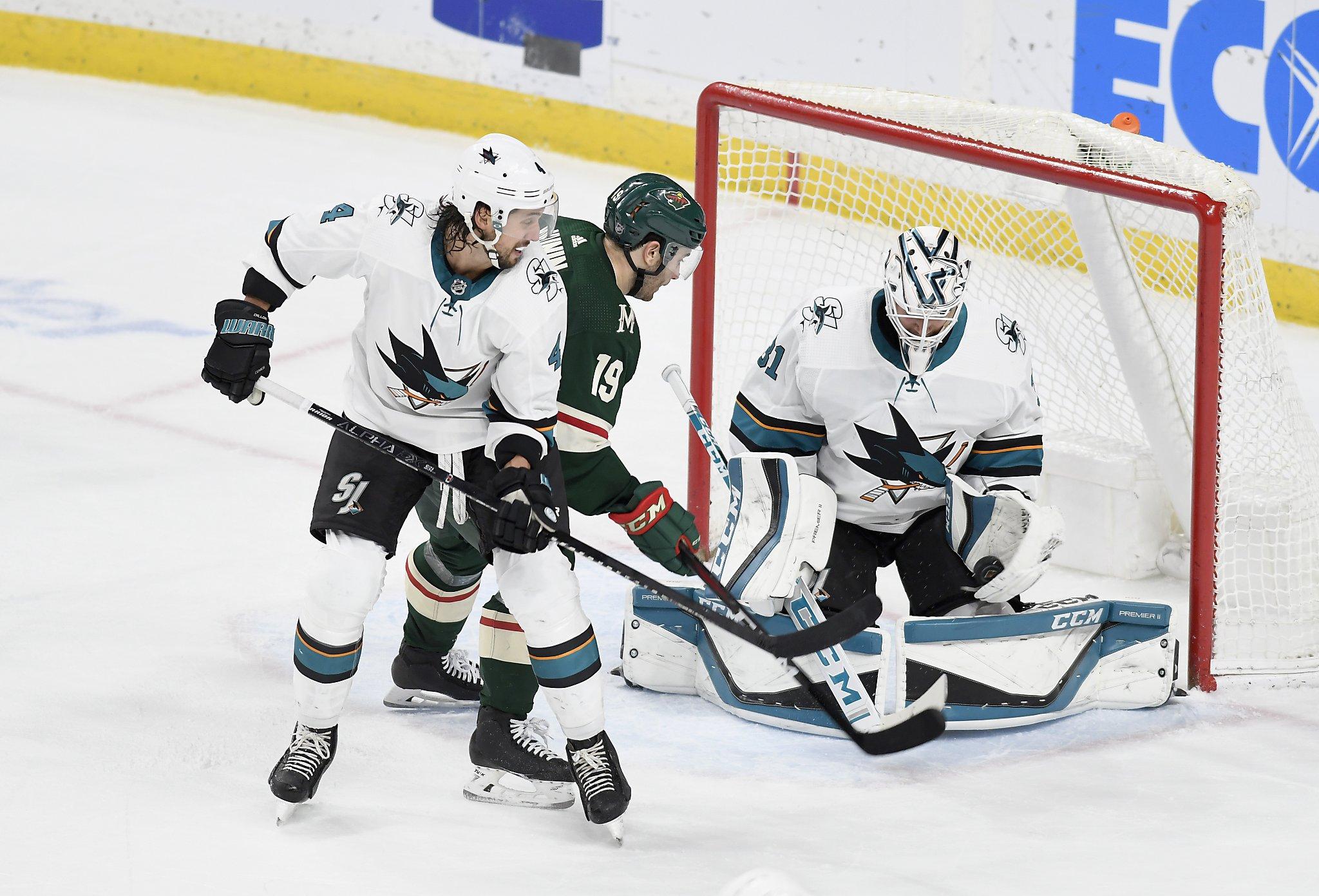 Sharks defenseman Erik Karlsson out for season with broken thumb