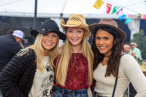San  Antonians  made their way to the Rodeo located outside the AT& T  Center on Saturday February 15, 2020.