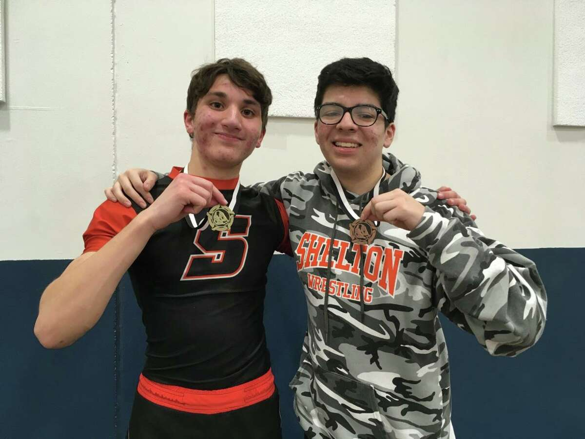 Adam Rossetti placed first and Justin Ayora was third at the SCC Jayvee Wrestling Tournament.