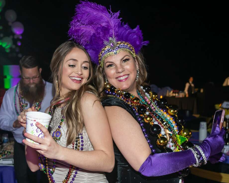 Grand Krewe Aurora Ball kicks off Mardi Gras season in its inaugural year in Beaumont. Aurora royalty will be presented in their elaborate roaring-20's themed costumes with this year's King and Queen announced. Photo made on Saturday, February 15, 2020 Fran Ruchalski/The Enterprise Photo: Fran Ruchalski/The Enterprise