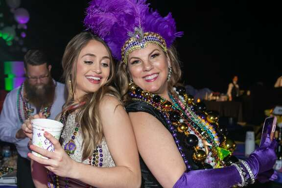 Grand Krewe Aurora Ball kicks off Mardi Gras season in its inaugural year in Beaumont. Aurora royalty will be presented in their elaborate roaring-20's themed costumes with this year's King and Queen announced. Photo made on Saturday, February 15, 2020 Fran Ruchalski/The Enterprise