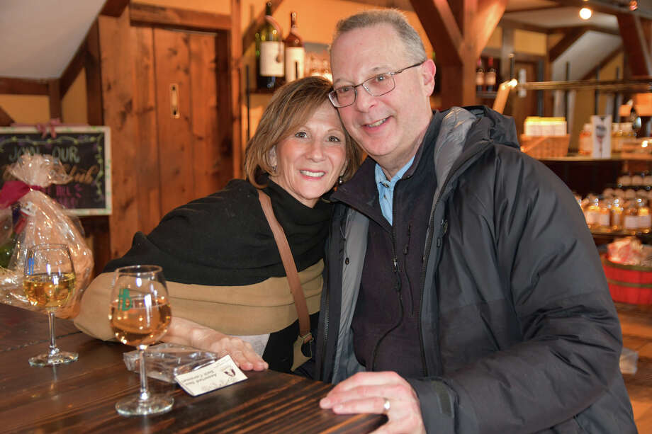 Haigh Brown Vineyard in Litchfield held its annual Winter Fest On February 15 and 16, 2020. Guests enjoyed a food and wine pairing, live music, a roaming wine tasting and annual winter fest wine release. This year, Haight released its first ever Brandy. Were you SEEN? Photo: Lara Green- Kazlauskas/ Hearst Media