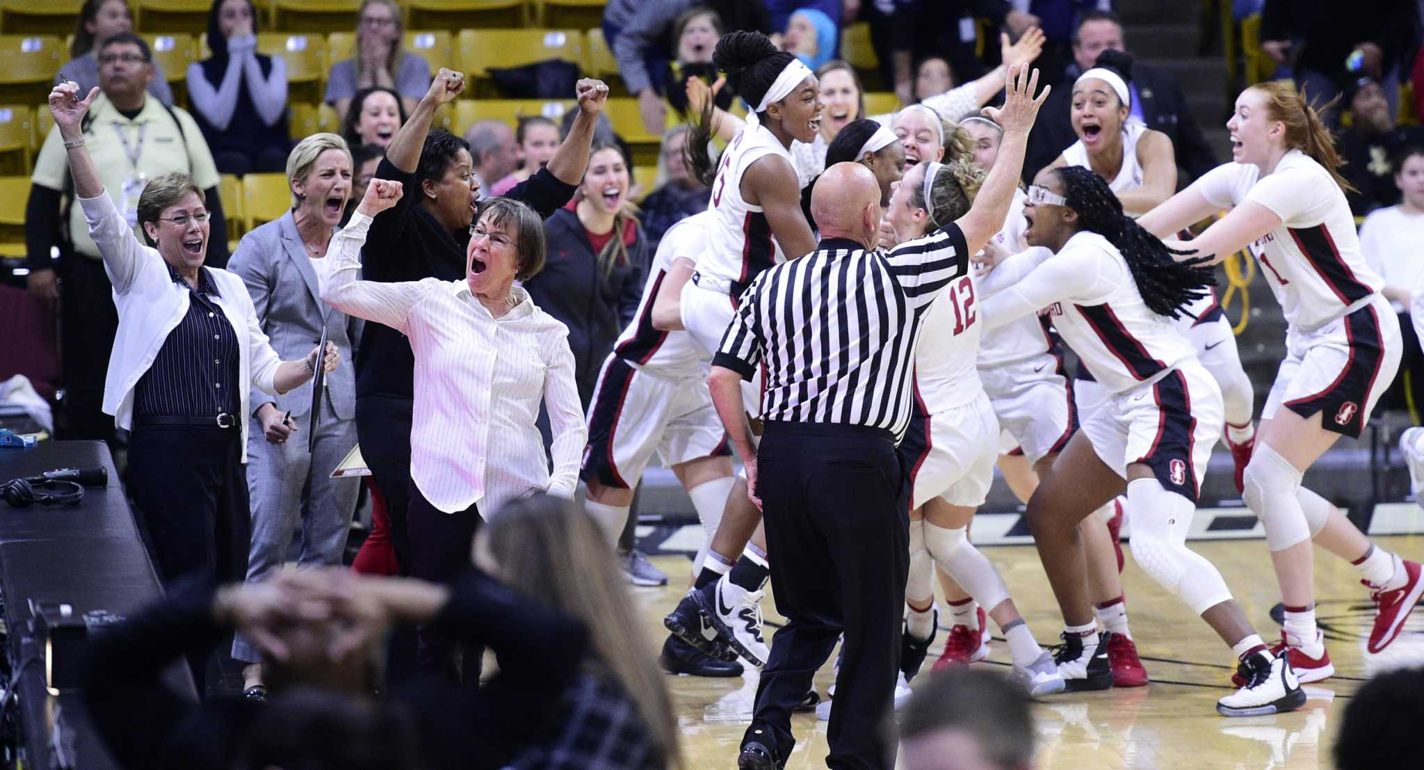 Stanford women beat Colorado on long 3-pointer at buzzer
