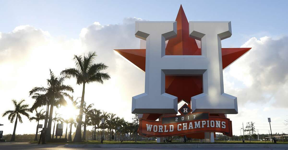 PHOTOS: Astros spring training (Feb. 16) Scene outside of the Houston Astros spring training facility at the Fitteam Ballpark of The Palm Beaches, in West Palm Beach , Wednesday, Feb. 12, 2020.