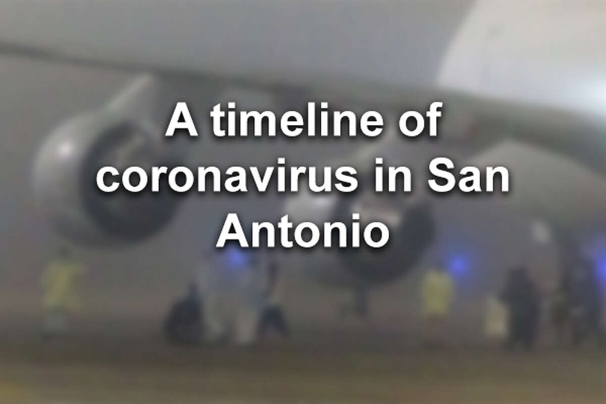 Click through to see a full timeline of the coronavirus in San Antonio.