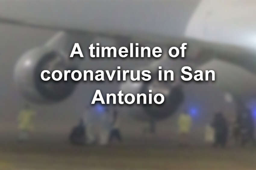 Click through to see a timeline of coronavirus in San Antonio.