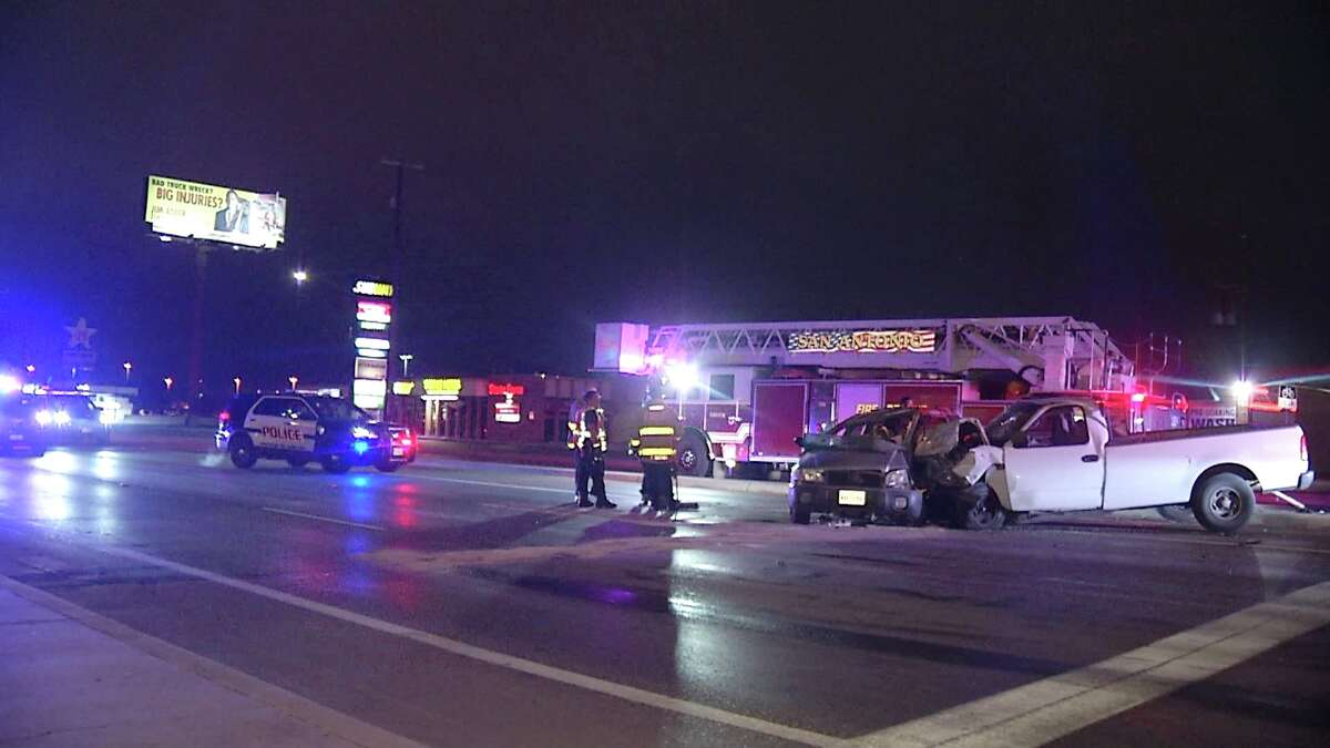 A 19-year-old woman has died after the driver of a white Ford F-150 ran a red light and crashed into her vehicle Monday morning on the West Side, according to San Antonio police.