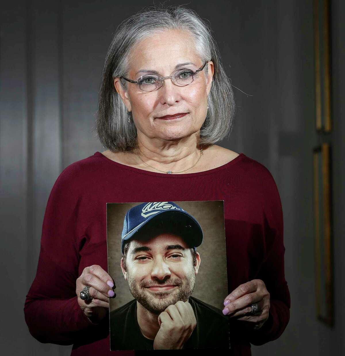 """""""That's what we're trying to do, is making his death count,"""" said Maureen Wittels on Wednesday, Feb. 12, 2020, at her home in Houston. Wittels lost her son Harris to a heroin overdose about five years ago. She has since started a Houston chapter of G.R.A.S.P., or Grief Recovery After a Substance Passing. """"Our meetings are so helpful, because you can get it all out,"""" she said. """"That's what we need, we need to get it out."""""""