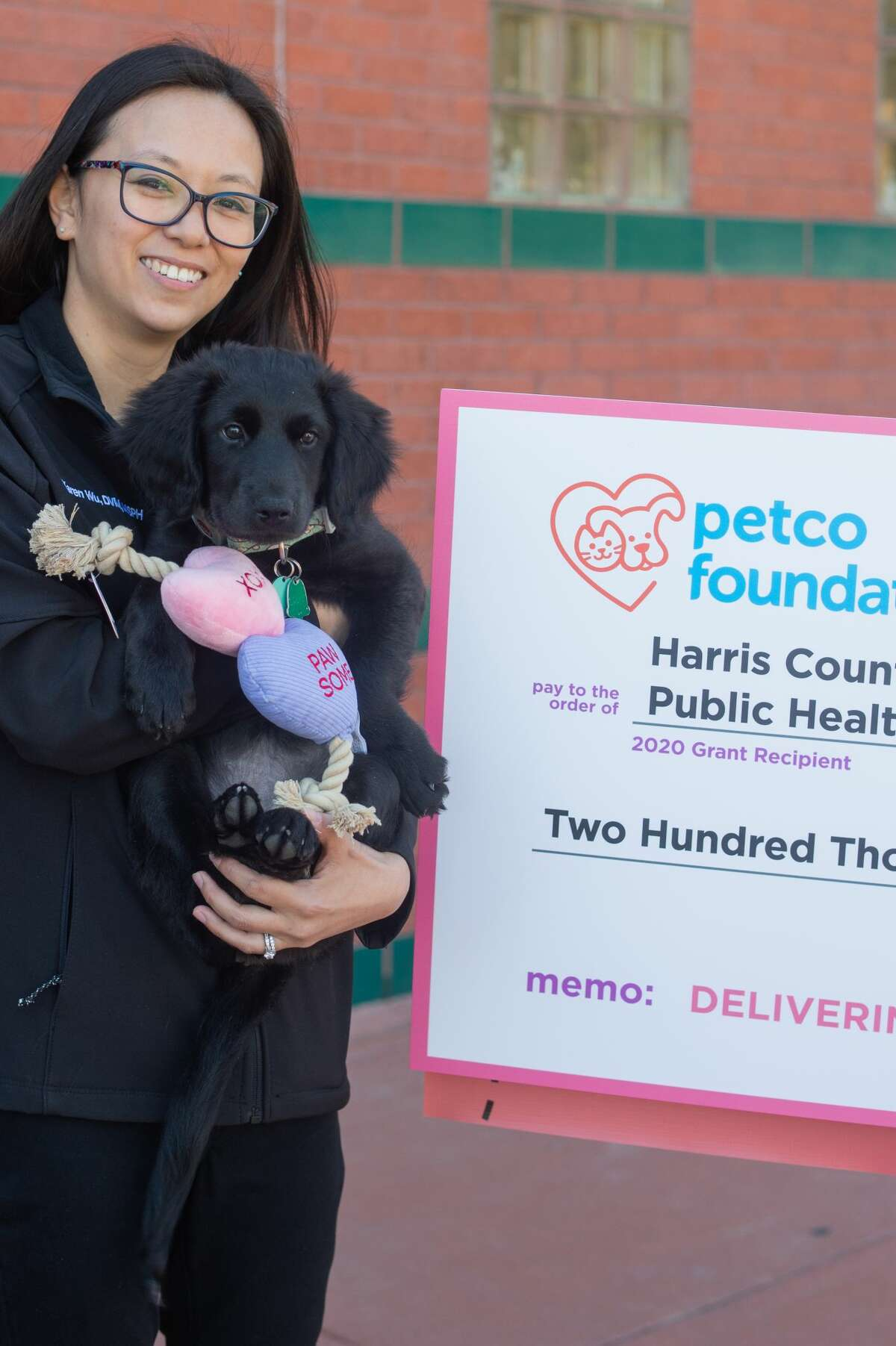 The Harris County Animal Shelter received a $200,000 grant and the Montgomery County Animal Shelter received a $300,000 grant as part of the Petco Foundation's