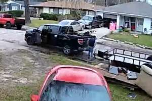 Officials with the Pasadena Police Department are urging the public to stay more vigilant of their property after an unknown suspect was caught on camera allegedly stealing an unsecured trailer right outside the victim's home in Pasadena.