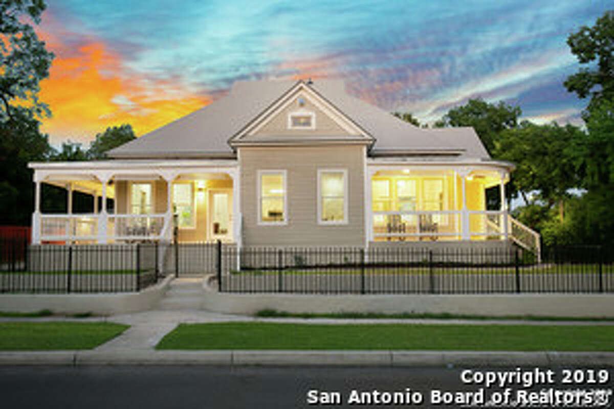 Charming 2600 sq ft home in the sought after Historic District of Dignowity Hill. This property includes a detached mother in law suite that offers a living room, bedroom, laundry room, and bathroom and is perfect for your in-laws. Impeccably renovated providing an open floor plan. Master suite feat. his/hers closet & ensuite spa shower. This property includes a detached mother in-law suite that features a living room, bedroom, laundry room, and bathroom, and is perfect for your special guests. Conveniently located and minutes to Hemisfair Park, downtown San Antonio, Pearl Brewery, Towers of America, restaurants, retail and major highways.