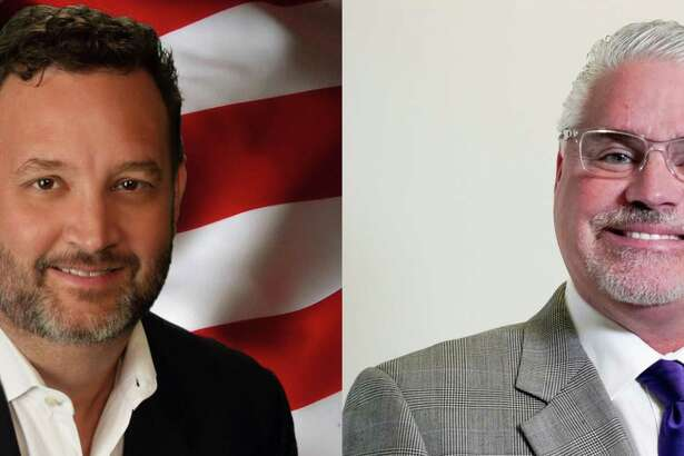 Dwight Ford, left, is challenging incumbent Dan Huberty in the race for state House District 127.