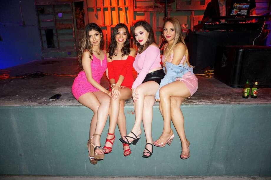 Aria Lopez, Victoria Garza, Vianey Castillo and Dellisha Morales at Siete Banderas. Photo: Jose Gustavo Morales/Laredo Morning Times