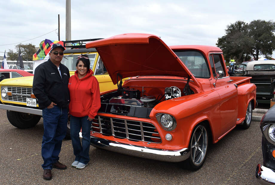 Visitors attended the WBCA Pipes and Car Show at El Metro Park & Ride on February 15, 2020. Photo: Diana Garro/Laredo Morning Times