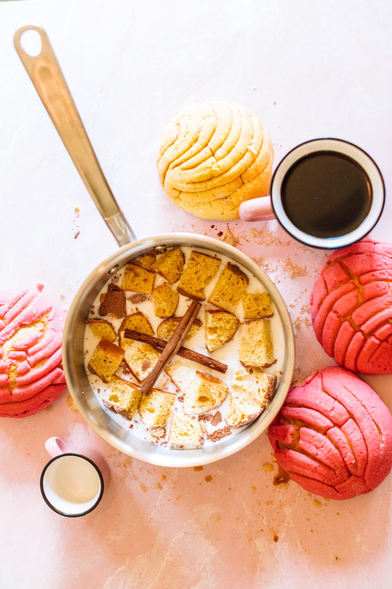 Recipe: Homemade Concha Coffee Creamer