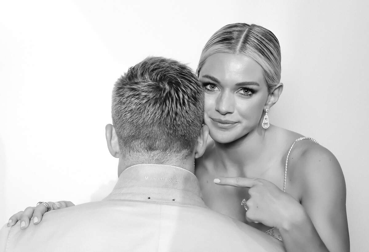 Texans star J.J. Watt and former Dash star Kealia Ohai married in the Bahamas over the weekend.