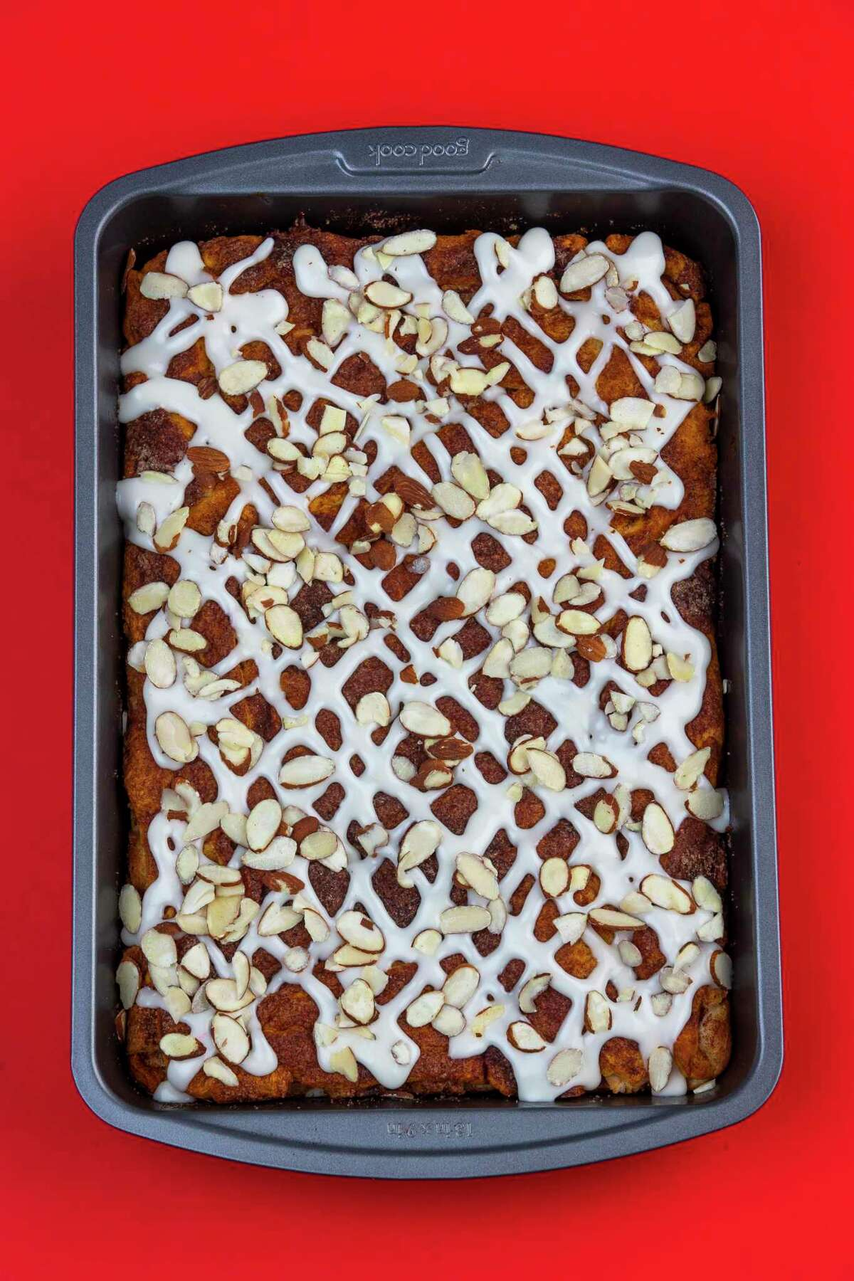 Concha Sopapilla Bars use concha sweet breads. The recipe comes from food writer and blogger Vianney Rodriguez of sweetlifebake.com.