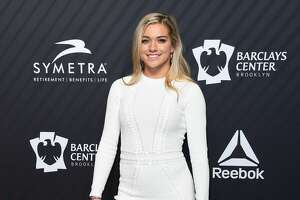US soccer player Kealia Ohai arrives for the 2017 Sports Illustrated Sportsperson of the Year Award Show on December 5, 2017, at Barclays Center in New York City. / AFP PHOTO / ANGELA WEISS (Photo credit should read ANGELA WEISS/AFP via Getty Images)