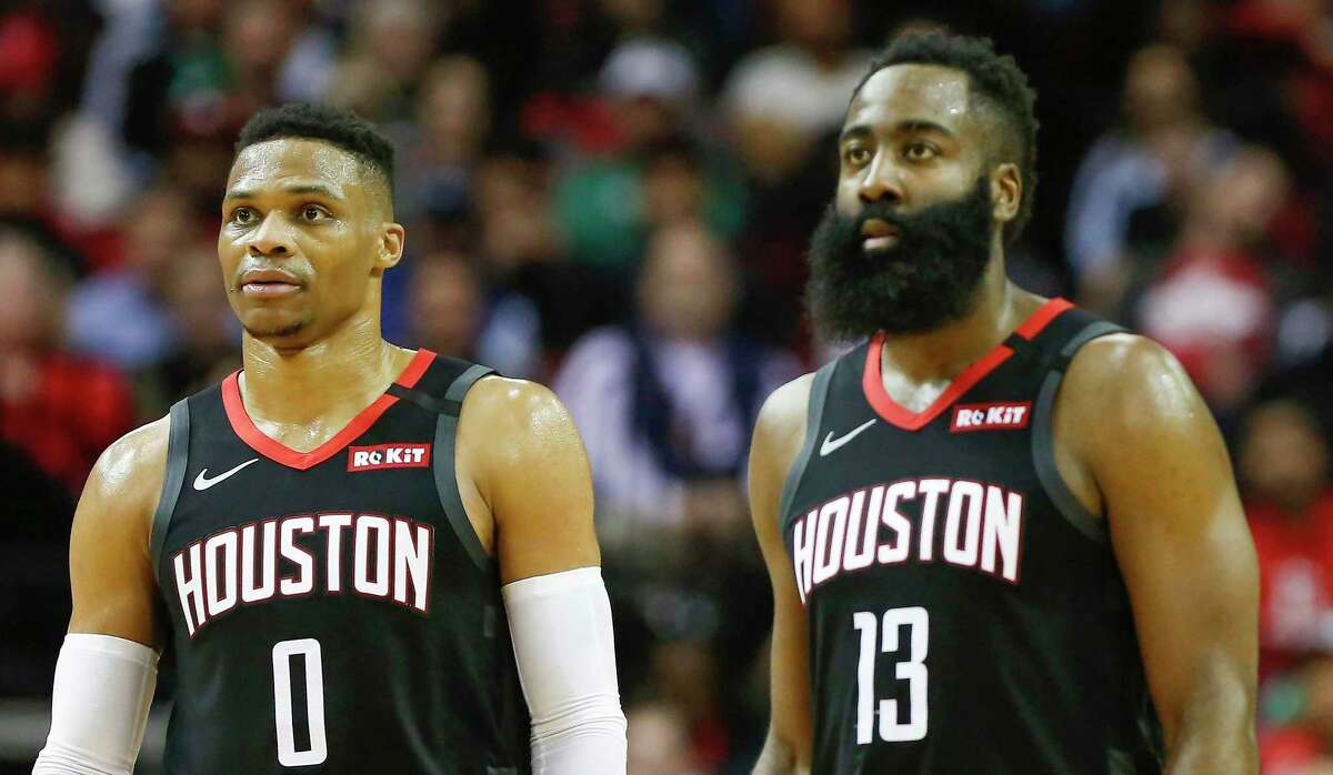 It's still unclear if Russell Westbrook and James Harden see enough in the addition of Christian Wood to alter their view of wanting to stay in Houston.