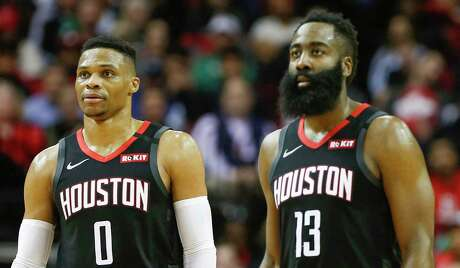 Russell Westbrook and James Harden are confident in the Rockets' ability to make a run after the All-Star break.
