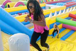 Get ready to unleash your inner kid because The Big Bounce America is bringing the world's biggest inflatable theme park to Texas.