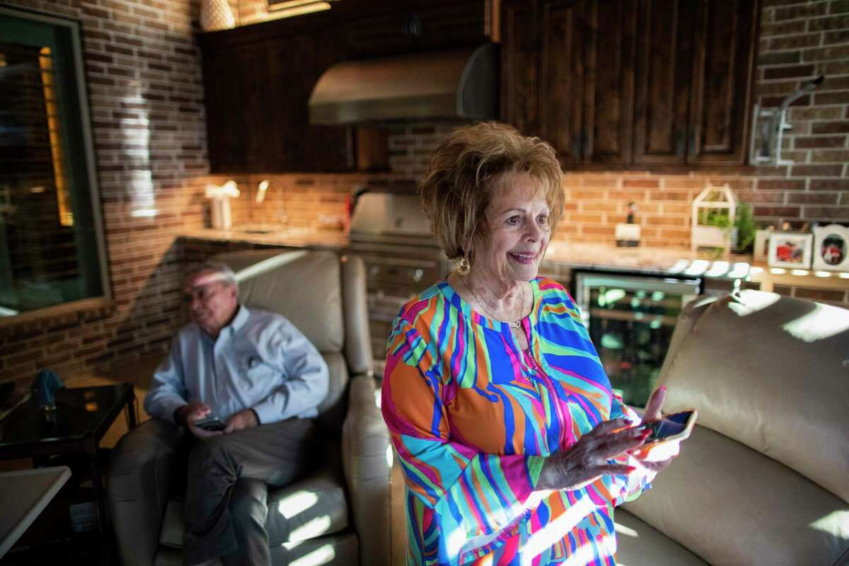 John Gandy, 82, and Pat Gandy, 81, built an automated home that can help them stay independent longer.